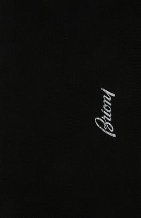 Мужские хлопковые носки BRIONI черного цвета, арт. 0VMC00/P9Z02 | Фото 2