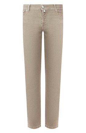Мужские джинсы KITON бежевого цвета, арт. UPNJSJ07S61 | Фото 1