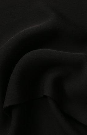 Женский шелковый шарф TOM FORD черного цвета, арт. SF0010-FAX040 | Фото 2 (Материал: Текстиль, Шелк)