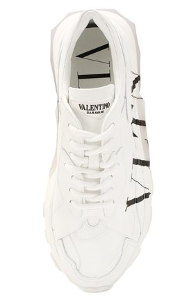 Женские кожаные кроссовки valentino garavani bounce VALENTINO белого цвета, арт. TW2S0M53/RKW | Фото 5