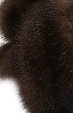 Воротник из меха соболя | Фото №2