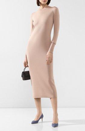 Платье из смеси кашемира и шелка | Фото №2