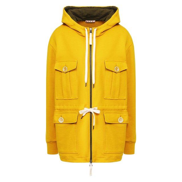 Хлопковая куртка Marni