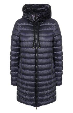 Женский пуховая куртка rubis MONCLER темно-синего цвета, арт. F1-093-1B100-00-C0070 | Фото 1