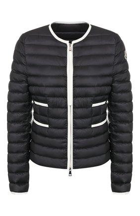 Женский пуховая куртка baillet MONCLER черного цвета, арт. F1-093-1A117-00-C0356 | Фото 1