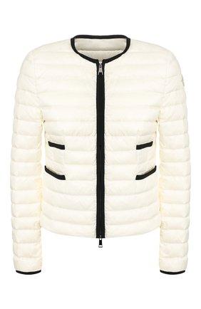Женский пуховая куртка baillet MONCLER белого цвета, арт. F1-093-1A117-00-C0356 | Фото 1