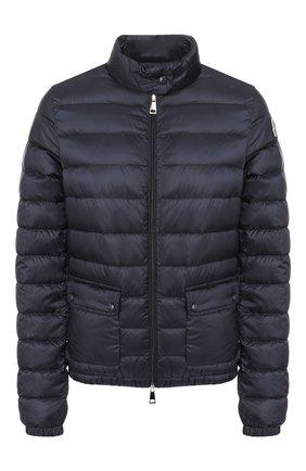 Женский пуховая куртка lans MONCLER темно-синего цвета, арт. F1-093-1A101-00-53048 | Фото 1