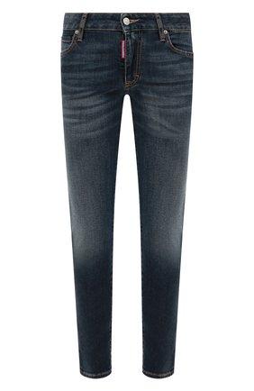 Женские джинсы DSQUARED2 синего цвета, арт. S75LB0327/S30595 | Фото 1