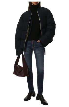 Женские джинсы DSQUARED2 синего цвета, арт. S75LB0327/S30595 | Фото 2