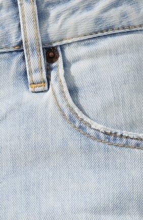 Женские джинсы DSQUARED2 голубого цвета, арт. S75LB0287/S30309 | Фото 5