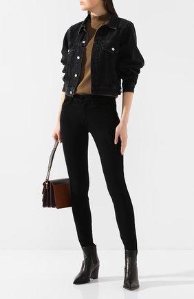 Женские джинсы PAIGE черного цвета, арт. 5591521-7696 | Фото 2