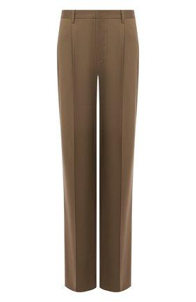 Женские шерстяные брюки RALPH LAUREN зеленого цвета, арт. 290767542 | Фото 1