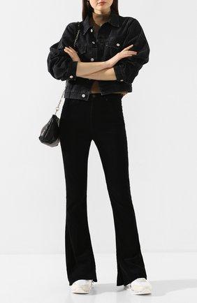Женские расклешенные джинсы CITIZENS OF HUMANITY черного цвета, арт. 1798B-359 | Фото 2
