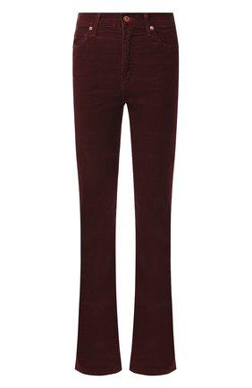 Женские расклешенные джинсы CITIZENS OF HUMANITY бордового цвета, арт. 1798B-359 | Фото 1