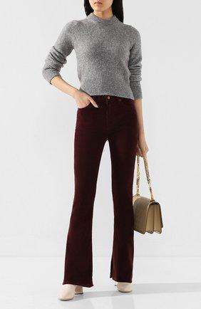 Женские расклешенные джинсы CITIZENS OF HUMANITY бордового цвета, арт. 1798B-359 | Фото 2