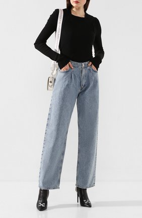 Женские джинсы AGOLDE голубого цвета, арт. A138-1139   Фото 2