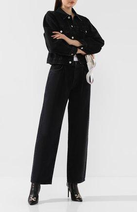 Женские джинсы AGOLDE серого цвета, арт. A138-1157   Фото 2