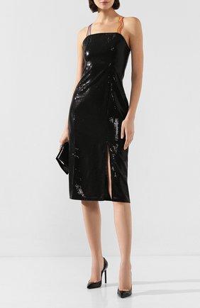 Женское платье с пайетками OLIVIA RUBIN черного цвета, арт. 0R0226/GRETA DRESS | Фото 2