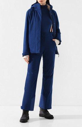 Женская утепленная куртка LORO PIANA синего цвета, арт. FAL0204 | Фото 2