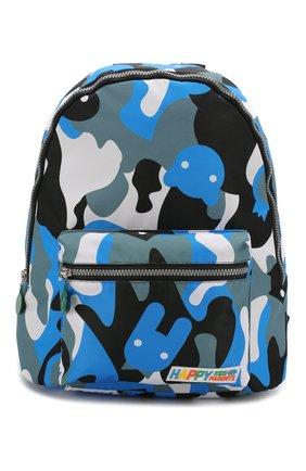 Детская рюкзак MUMOFSIX голубого цвета, арт. MOSFW19BP_01 | Фото 1