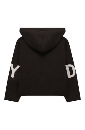 Детский куртка DKNY серого цвета, арт. D35Q40 | Фото 2