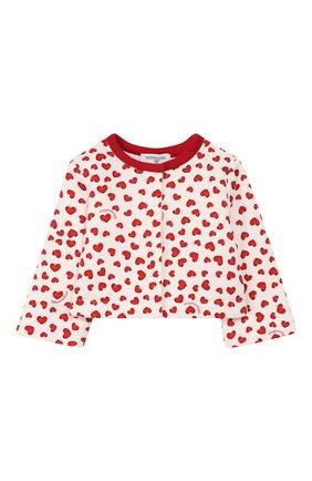 Детский комплект из жакета и брюк MONNALISA красного цвета, арт. 354503R5 | Фото 2