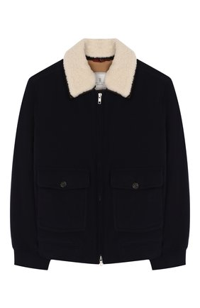 Куртка из шерсти и кашемира | Фото №1
