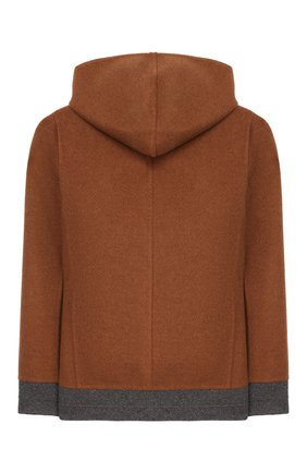 Двусторонняя куртка из кашемира | Фото №2
