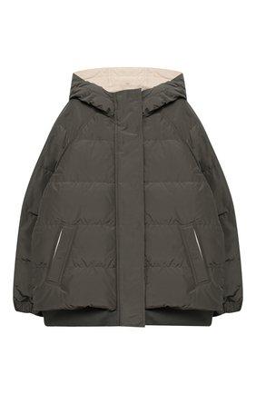 Двусторонняя пуховая куртка | Фото №1