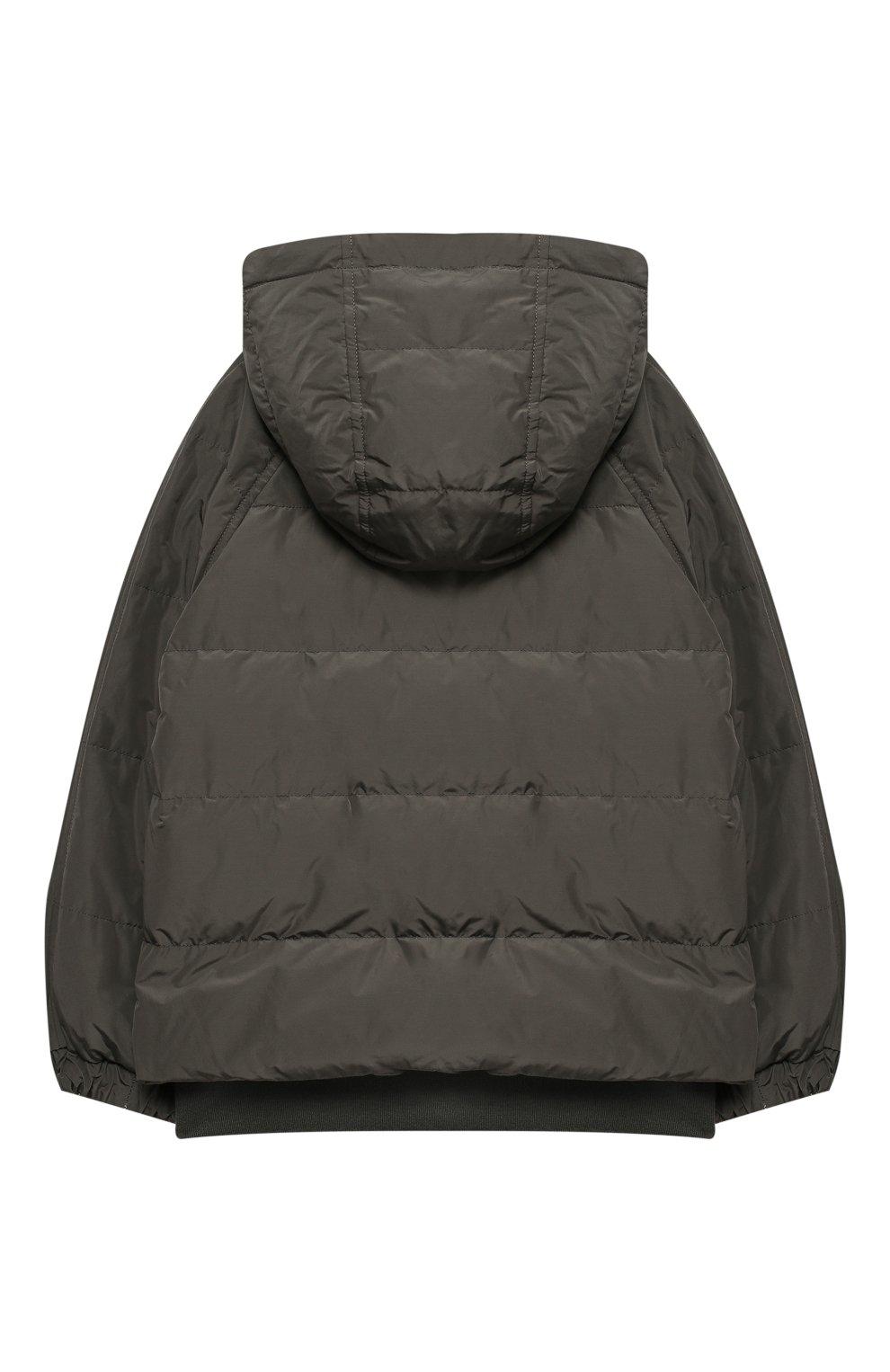 Двусторонняя пуховая куртка   Фото №2
