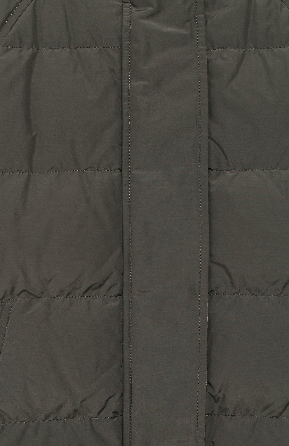 Двусторонняя пуховая куртка | Фото №3