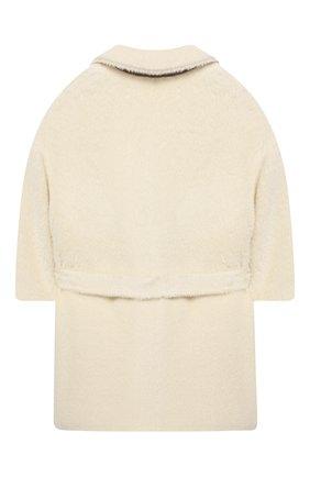 Двубортное пальто из шерсти | Фото №2