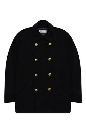 Двубортное пальто из кашемира | Фото №1