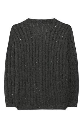 Кардиган из кашемира и шелка | Фото №2