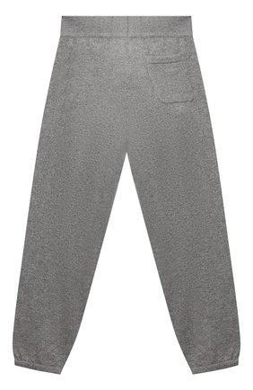 Детского кашемировые джоггеры LORO PIANA серого цвета, арт. FAL0600 | Фото 2