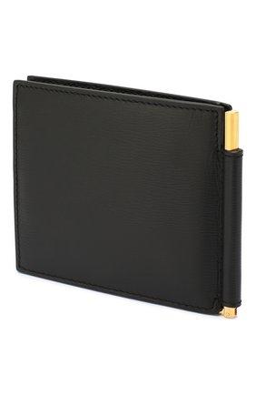 Мужской кожаный зажим для денег TOM FORD черного цвета, арт. Y0231T-LCL053 | Фото 2