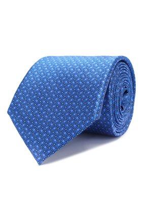 Мужской шелковый галстук CANALI синего цвета, арт. 18/HS02726   Фото 1