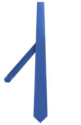 Мужской шелковый галстук CANALI синего цвета, арт. 18/HS02726   Фото 2