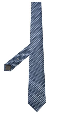 Мужской шелковый галстук CANALI темно-синего цвета, арт. 18/HJ02678   Фото 2