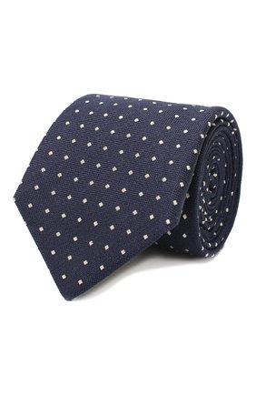 Мужской шелковый галстук CANALI темно-синего цвета, арт. 18/HJ02674   Фото 1