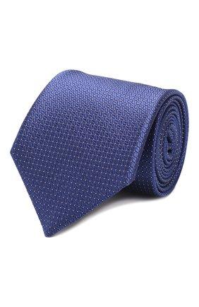 Мужской шелковый галстук CANALI фиолетового цвета, арт. 18/HJ02613 | Фото 1