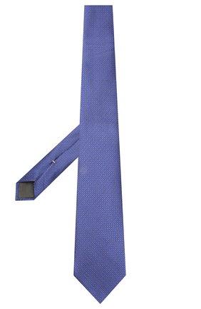 Мужской шелковый галстук CANALI фиолетового цвета, арт. 18/HJ02613 | Фото 2