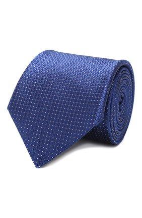 Мужской шелковый галстук CANALI синего цвета, арт. 18/HJ02613   Фото 1