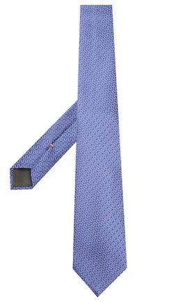 Мужской шелковый галстук CANALI фиолетового цвета, арт. 18/HJ02609 | Фото 2