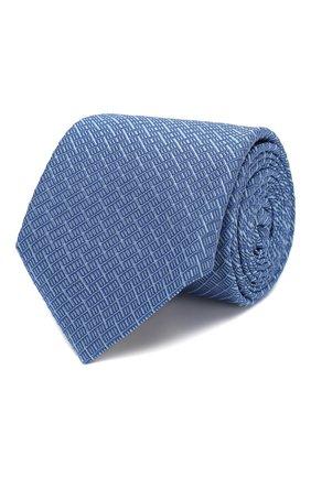 Мужской шелковый галстук CANALI синего цвета, арт. 18/HJ02608   Фото 1