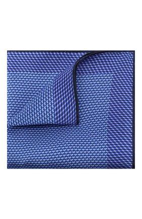 Мужской шелковый платок CANALI темно-синего цвета, арт. 03/HS02759   Фото 1