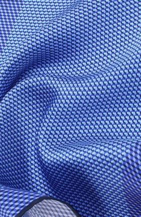 Мужской шелковый платок CANALI темно-синего цвета, арт. 03/HS02759   Фото 2
