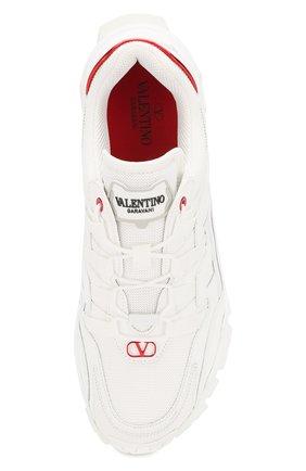 Мужские комбинированные кроссовки valentino garavani climbers VALENTINO белого цвета, арт. TY2S0C20/LJP | Фото 5