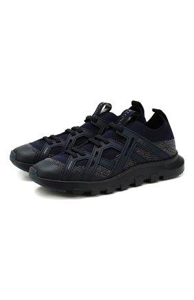 Мужские текстильные кроссовки Z ZEGNA синего цвета, арт. A4415X-LHTPU | Фото 1