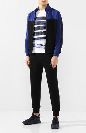 Мужские текстильные кроссовки Z ZEGNA синего цвета, арт. A4415X-LHTPU | Фото 2